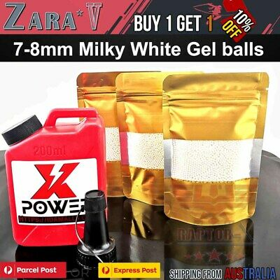7-8Mm Water Crystal Beads Gel Ball Toy Bullets Gel Balls Ammo Blaster 7Mm-8Mm