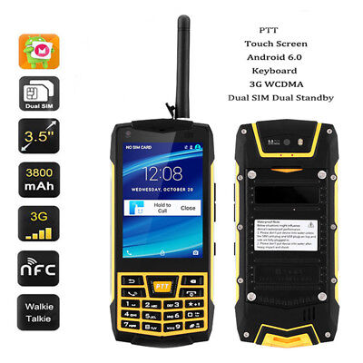 3G Android Rugged N2 Smartphone NFC Walkie-Talkie Quad-Core IP68 Dual SIM W/32GB