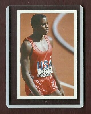 Usa - Carl Lewis - Rare Question Of Sport - Booster Pack Issue - Very Rare