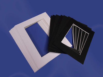 Picture / Photo Mounts - Rectangle & Square sizes, Various Colours & Pack sizes
