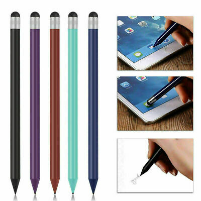 Capacitive Stylus Touch Screen Pen Writing Drawing Pen For iPhone Samsung iPad G