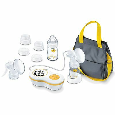Beurer BY60 Electric Breast Pump Kit with Manual Pump and Adaptors for Avent/NUK