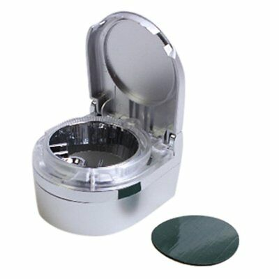 Mini Portable Car Ashtray with LED Light Home Cigarette Ashtray for Smoker