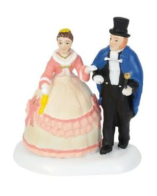 Dept 56 Dickens Village An Elegant Evening Out #6000591 BRAND NEW 2018 Free Ship