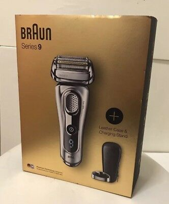 Braun Series 9 9260s Wet & Dry Shaver With Charging Stand Limited Edition Silver