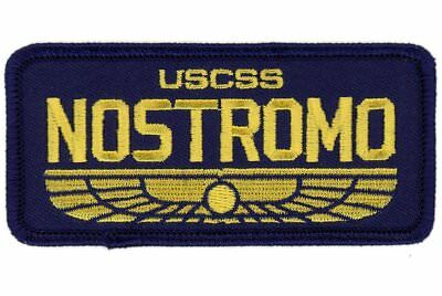 Navy Blue Nostromo Name Tag Ship Crew Alien Movie Gear Rucking Patch
