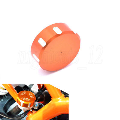 Rear Brake Fluid Reservoir Cover Cap for KTM 125 200 390 Duke KTM RC 200 250 390