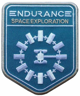 Interstellar Endurance Nolan Alien Sci Fi Movie Película Patch Iron On