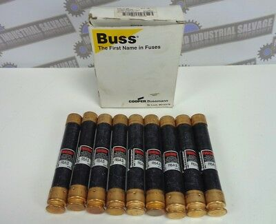 BUSSMANN * LOT OF 9 * RK5 * FUSETRON Fuse * PN: FRS-R-25 * NEW in BOX