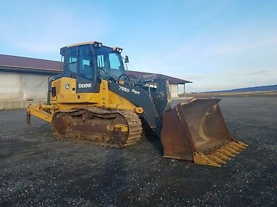 2009 Deere 755D Track Loader Diesel Engine Hydraulic Ripper Machinery Cabbed AC
