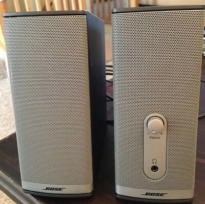 Bose Companion 2 Series II Multimedia Speaker System EXCELLENT