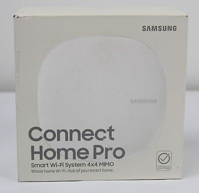 Samsung Connect Home Pro Whole Home Wi-Fi System & Smart Home Hub #ETWV530BW
