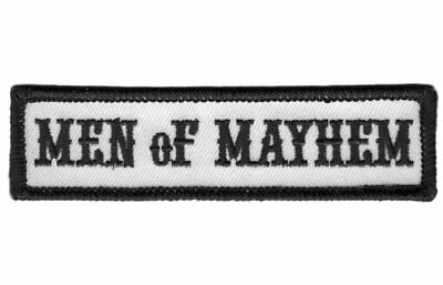 Men Of Mayhem - Motorcycle Club Outlaw Anarchy Biker Jacket Vest Patch Parche