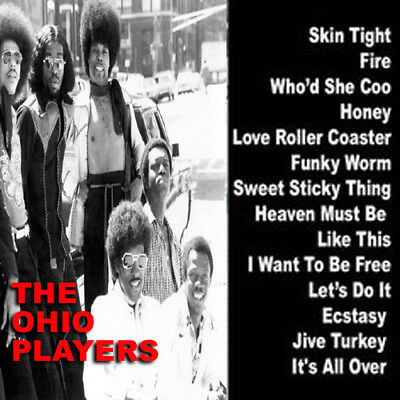 Best Of The Ohio Players Mixtape DJ Compilation Mix CD