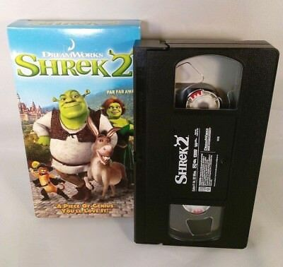 Dreamworks Shrek 2 Vhs 2004 Vhs Tape And Box Are In Excellent Condition 4 99 Picclick