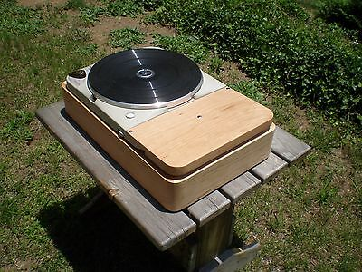 THORENS TD-124 & TD-124 MKII Reproduction Plinth, EXTENDED Base For 12 INCH ARM
