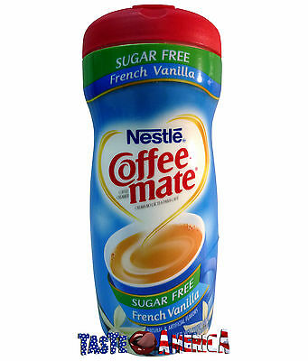 Nestle Coffee Mate Sugar Free French Vanilla Creamer 289g Coffeemate Coffee-Mate