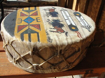Sonya Holy Eagle Hand Painted and Hand Crafted Ceremonial Drum