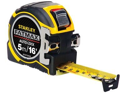 Stanley FatMax Autolock Pocket Tape 5m/16ft (Width 32mm)