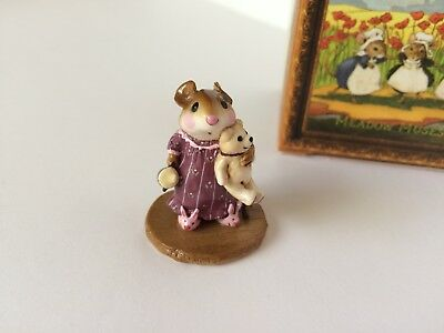 Wee Forest Folk M-219 MOUSEY'S BUNNY SLIPPERS Ltd. Special 1/100 Color - MINT