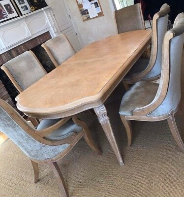 Henredon Dining Table and Chairs Set