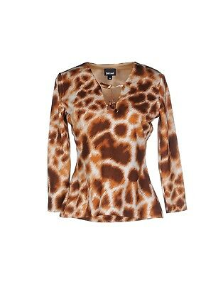 Just Cavalli 100% Authentic Top Blouse shirt Sz 38 (US 2) Small NEW $205