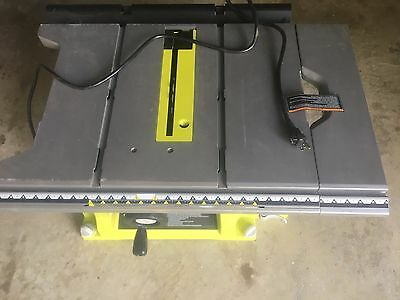 Ryobi rts21g 10 in portable table saw not a complete set 8500 ryobi rts21g 10 in portable table saw not a complete set keyboard keysfo Images