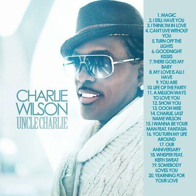 Best Of Charlie Wilson Mixtape DJ Compilation Mix CD Old School Lovers Mix