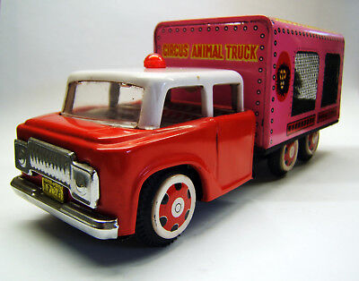 Tintoy, Blechspielzeug, Circus Animal Truck, MF 782, Made in China, 1960er Jahre