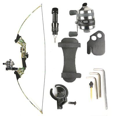40lbs Archery Bowfishing Fishing Reel Takedown Recurve Bow Hunting Fish Kit