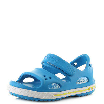 Kids Crocs Crocband II Sandals Ocean Blue Tennis Green Sandals Shu Size
