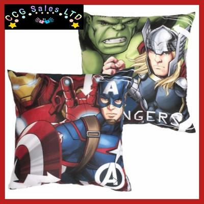 Official Marvel Comics Avengers Tech Reversible Filled Cushion