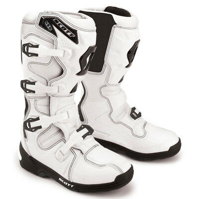 Scott - 450 White Men MX Boots - 6