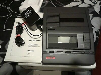 Lanier VW-210 Micro Cassette Transcriber Machine With headset!