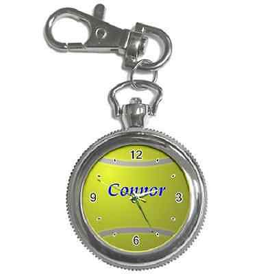 Tennis Ball Personalised Keychain Watch **superb Gift Item**