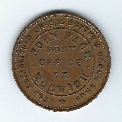 GREAT BRITAIN Norfolk Unofficial Farthing Duke of Wellington Inv 2956