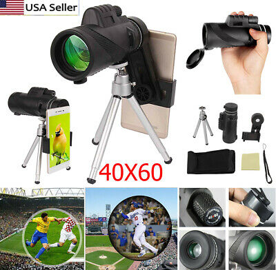 US 40x60 Clip-on Optical Zoom HD Telescope Camera Lens For Universal Cell Phone