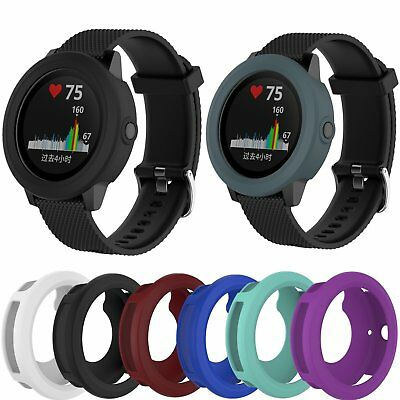 Replacement Smart Watch Band Case Silicone Protect Cover For Garmin Vivoactive 3