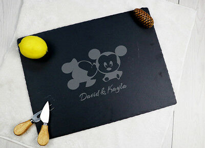 Mr & Mrs engraved personalized cheese board we do love custom serving platter