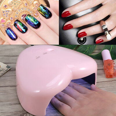 Professional LED UV Nail Dryer Gel Polish Lamp Light Curing Manicure Machine18W
