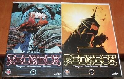 Redneck #1,2 (Nm-) 1St Print 2017 Image Comics Donnie Cates Vampire Horror