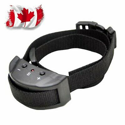 Anti Barking E-Collar No Bark Dog Training Shock Collar for Dogs CANADA