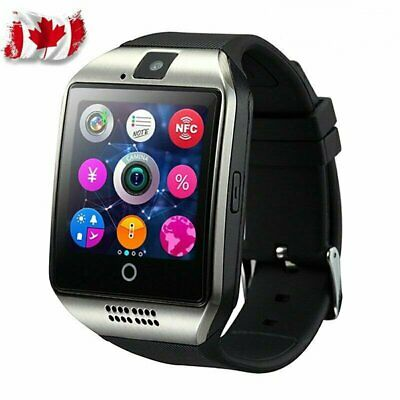 Bluetooth Smart Watch For Android iPhone iOS + Camera TF Card Touch Screen Ca