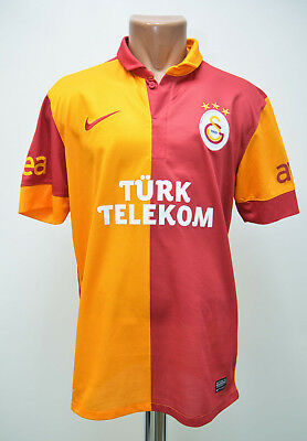 Size M Galatasaray Turkey 2012/2013 Home Football Shirt Jersey Trikot Nike
