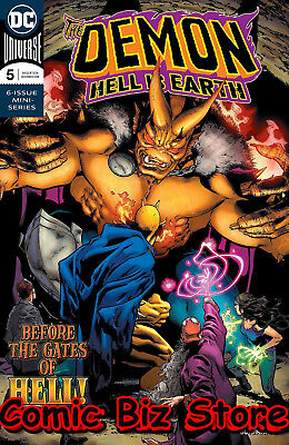 Demon Hell Is Earth #5 (Of 6) (2018) 1St Printing Dc Comics Bagged & Boarded