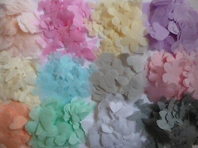 FILL 4 CONES! Many Colours, Styles. Hearts Wedding  Throwing Confetti Decoration