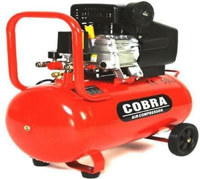 Air Compressor 50L Litre 2.5HP 8 BAR 9.6CFM With Wheel