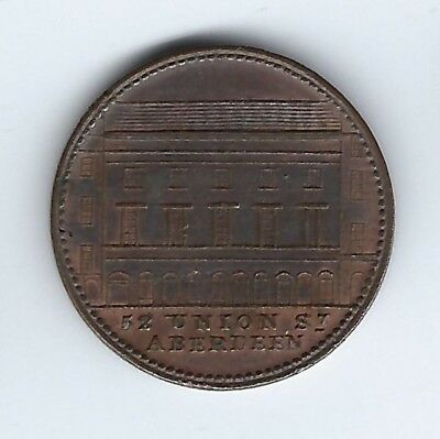 SCOTLAND Unofficial Farthing North of Scotland Equitable Loan Co Inv 2964