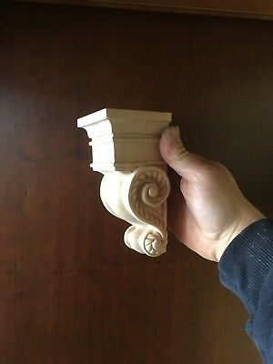 Small Solid Maple Corbels