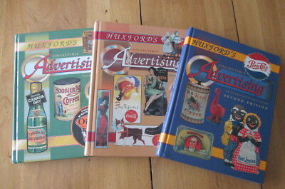 Huxford's COLLECTIBLE ADVERTISING - Second, Third & Fourth Editions